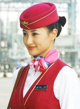 空姐帽子矢量图