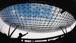 重庆机场T3A穿上外衣 玻璃幕墙创亚洲之最