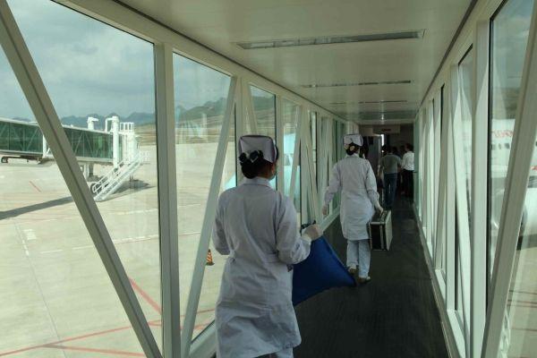 六盘水月照机场妥善处置航班发病旅客