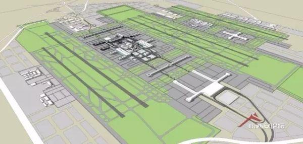 西安机场扩建过审,5条跑道5座航站楼!