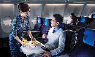 飞机经济舱哪个位置最舒适?带婴儿请坐这儿!