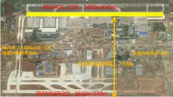 提醒飞飞注意:武汉机场双跑道运行提示