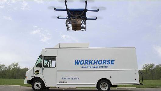 """无人机送货惊现新方式 解决""""最后一公里""""难题"""