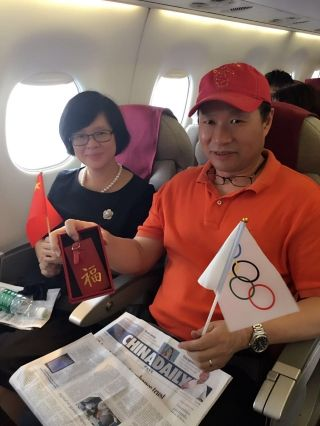 女排夺冠!天航旅客万米高空为奥运健儿喝彩