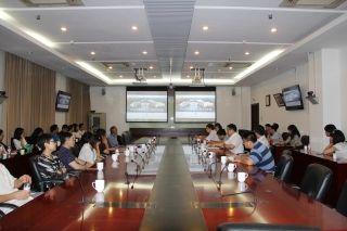 北京市规委勘办到访华北空管工程建设指挥部
