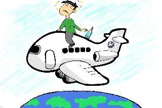 乘客恐飞醉酒大闹航班 机长放油36吨备降