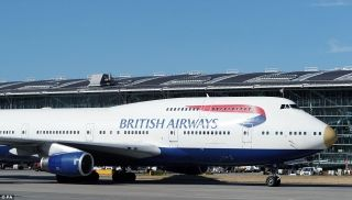 Here they are: A total of 320 athletes and support staff travelled back from Rio in a gold-nosed British Airways Boeing 747 with 'victoRIOus' emblazoned on the side. The team were greeted by cheers and applause from the airport's staff.