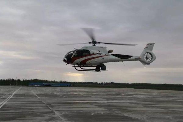 宁夏首架空客直升机成功试飞!填补航空救援空白