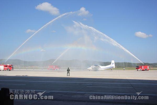 加格达奇机场举行应急救援综合演练