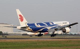 Air China Boeing 777-200(Blue Phoenix)