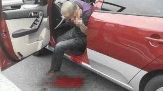 的哥浦东机场内被刺死 凶手有前科两人无过节