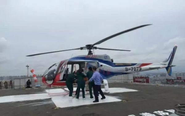 中航工业直升机公司已经研制出医疗救援构型的AC311、AC312、AC313直升机。