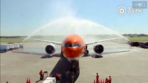 F16护送过水门:荷兰人热情迎接运动员归国