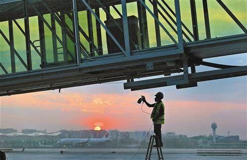重庆机场T3全面进入内装及设备安装阶段