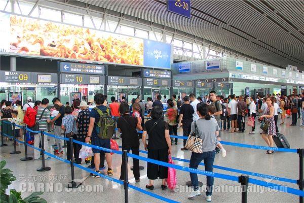 长沙机场8月旅客吞吐量突破200万人次