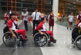 出征!国航奥运航班搭载残奥代表团飞赴里约