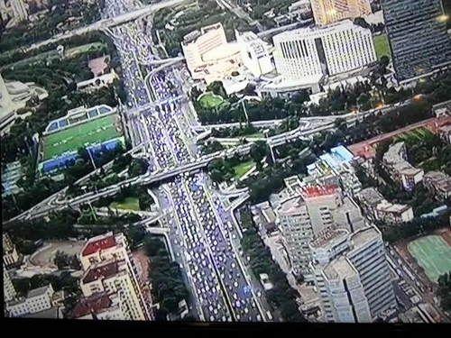 酷!北京警方出动直升机为开学保驾护航