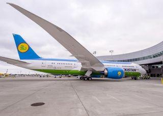 乌兹别克斯坦航空接收首架波音787飞机