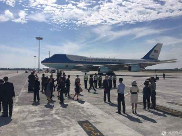 都有哪些外国政要乘专机降落在杭州萧山机场?