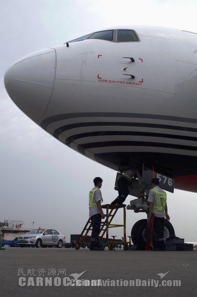 图片 旺季再迎767 顺丰航空机队规模达到34架_民航 ...