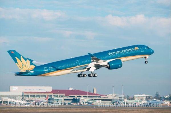 越南航空增购10架空客A350XWB宽体飞机