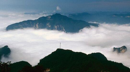 图:河南云台山风景区.
