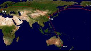 南京-温哥华开航在即 南京-旧金山也不远了!