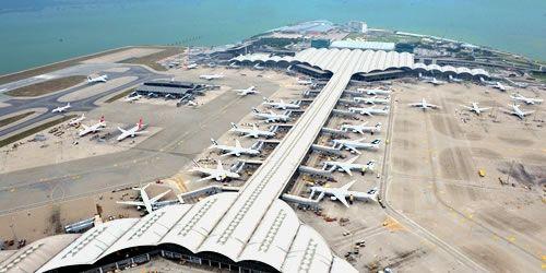 香港国际机场2016年接待旅客7050万人次