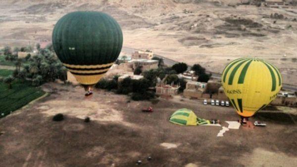 驻埃及大使馆提醒中国公民不要乘坐热气球