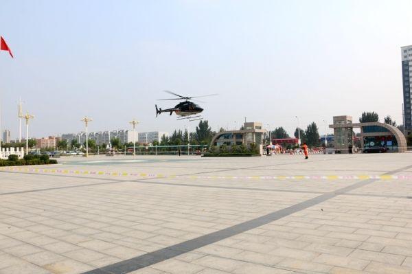 挽救脑出血病人!安阳完成豫北首例空中救援任务
