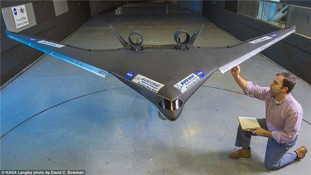 波音和NASA联合测试未来客机方案