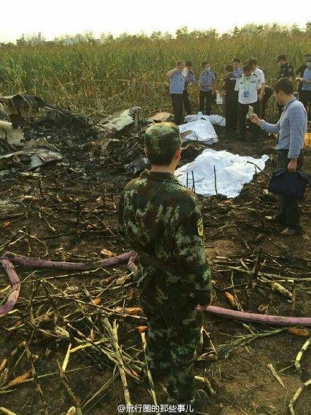 石家莊航展飛機墜毀:疑失速導致 遇難4人或含兒童