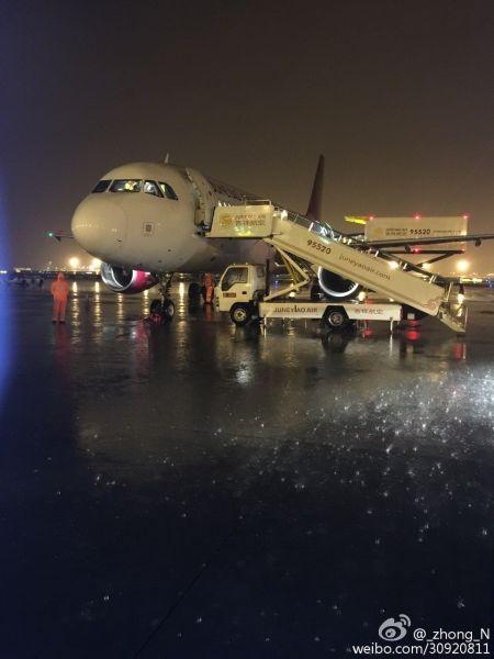 吉祥航空飞曼谷航班,起飞10分钟后返航浦东