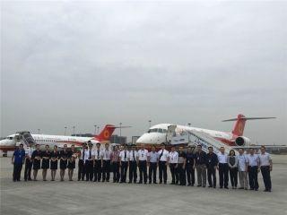 成都航空接收第2架ARJ21客机 摄影:成都航空