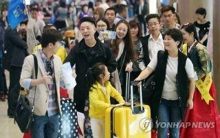 韩各大航空公司韩中航线迎十一订票高峰