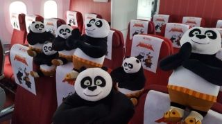 Hainan Airlines' Kung Fu Panda-themed Boeing 787-9