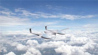 全球首架4座型混合燃料电池飞机德国试飞