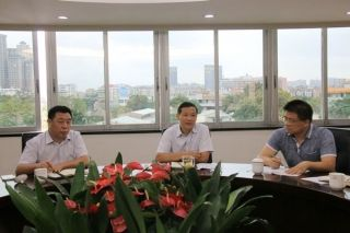 中南局与广东省机场集团进行会谈