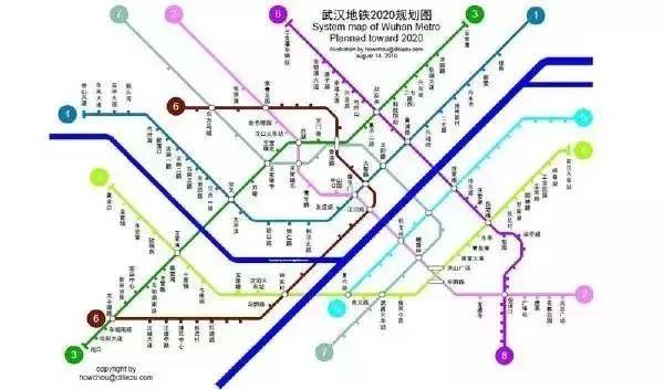 武汉地铁规划图
