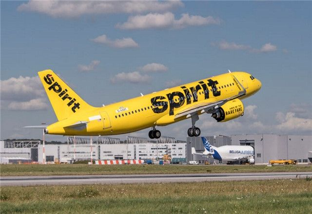 美精神航空接收首架A320neo飞机 全美首家