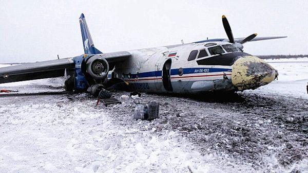 不安全事件纵览:客机冰面重着陆机毁人无恙