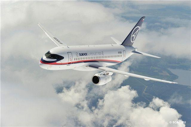 民航早报:起落架未完全放下 俄SSJ100硬着陆