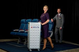 The new Delta flight attendant uniforms. Photo credit: Delta