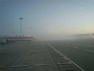南苑机场大雾 中联航部分航班被迫取消