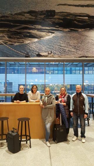 赫尔辛基机场首批员工到访首都机场交流学习