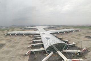 """谢谢""""海马""""! 让我们看到了这样的深圳机场"""