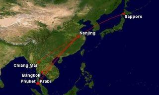 民航局批复吉祥航空 新开多条南京国际航线