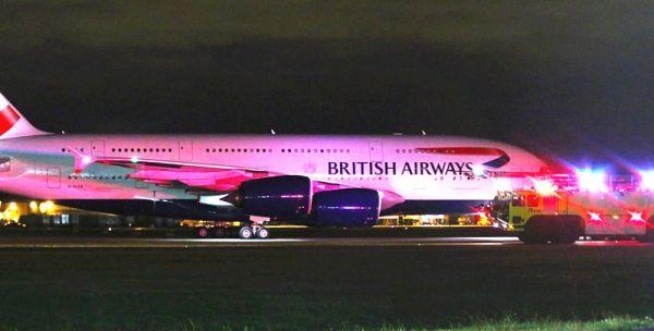 英航客机因机组人员急需救治 备降温哥华