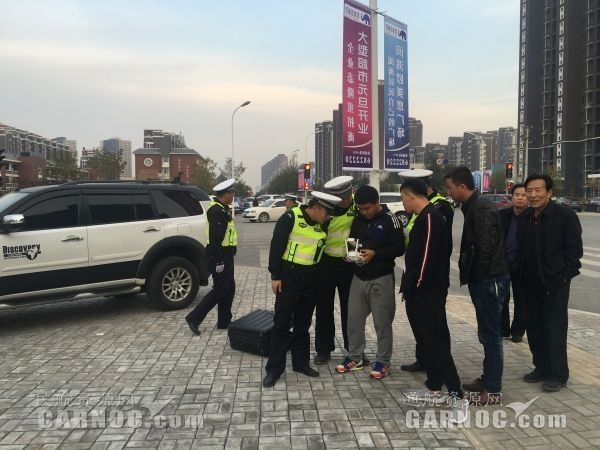 银川一男子交通肇事后逃逸  无人机助力警方追捕