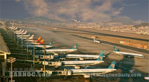 2017年7月底,大连机场停机位将达到65个